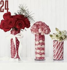 24 lovely Christmas centerpieces
