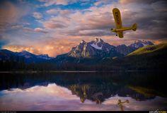 My Husband Brandon's Favorite Plane the Piper J3 Cub