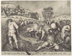 Pieter van der Heyden after Pieter Bruegel the Elder: Summer (26.72.23) | Heilbrunn Timeline of Art History | The Metropolitan Museum of Art