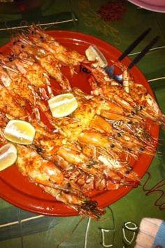 Peri Peri Prawns - my all time favorite - cooked Portuguese style