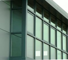 Curtain wall with openers
