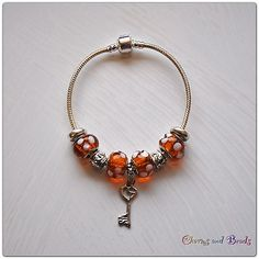 Bid to € 0,99 for bracelet european style beads charms