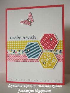 Saturday, July 20, 2013Washi + Six-Sided Sampler    Fun Stampin' with Margaret