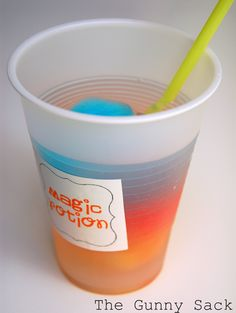 Color changing drink
