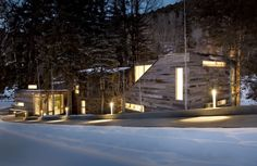Piampiano+Residence, Woody Creek, Colorado, by Studio B Architects