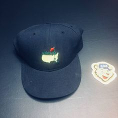 c1666b7380b New Era Vintage New Era Tiger Woods The 1997 Masters Fitted Golf Hat Size  one size. Grailed