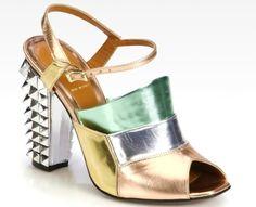 Fendi Polifonia sandals FS13