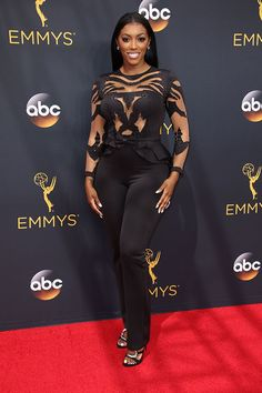 porsha-williams-emmy-awards-2016 Elle Fashion, Girl Fashion, Fashion Trends, Chic Outfits, Sexy Outfits, Porsha Williams, Good Looking Women, Black Party, Beautiful Black Women