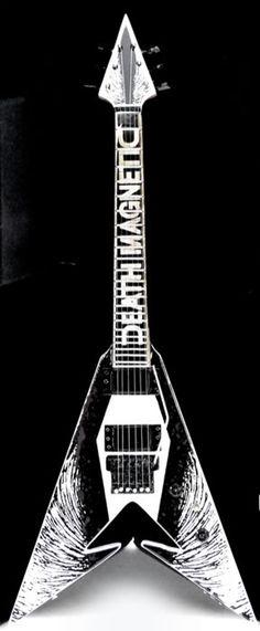 Metallica Death Magnetic Guitar