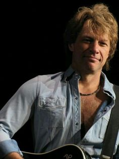 Jon Bon Jovi...quite simply the most beautiful man to ever walk this earth...LOVE ❤️