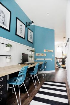 Homework Heroes: 7 A  Ideas for Squeezing in a Study Space