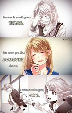 yeah that's true☺ please wish me luck for my exam this year😆😊 Sad Anime Quotes, Manga Quotes, Reality Quotes, Mood Quotes, Anime Love Couple, Cute Love Quotes, Cute Relationships, True Relationship, Anime Life