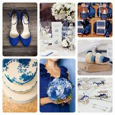 Dazzling Blue. Pantone Wedding Color Palette by Queen Bee