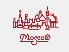 Moscow by Indian