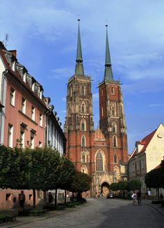 Cathedral of St. John the Baptist, Ostrow Tumski, Wroclaw, Poland