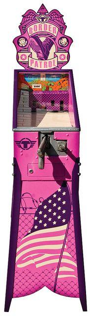 border patrol arcade game : trustocorp