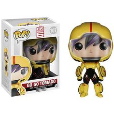 Funko Pop! Disney Big Hero 6 Go Go Tomago Vinyl Figure
