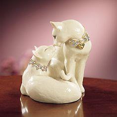 Lenox's cat figurines are precious!!!
