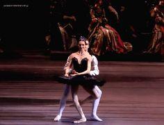 Svetlana Zakharova and Alexander Volchkov in Bolshoi's Swan Lake
