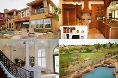 Las Vegas  Listing price: $1,100,000  Bedrooms: 3  Bathrooms: 4  Size of home: 4,175 sq ft