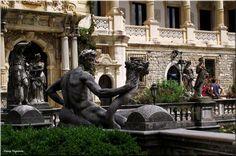 Castle Peles - Sinaia by Nancy Vajaianu on Buddha, Castle, Statue, Art, Art Background, Kunst, Castles, Performing Arts, Sculptures