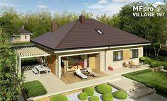 Modern Bungalow Family Home with Dynamic Features - Pinoy House Designs - Pinoy House Designs