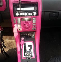 PINK!! (: I wanna do this for my truck!