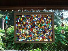 Mosaic window by Bamasusanna, via Flickr