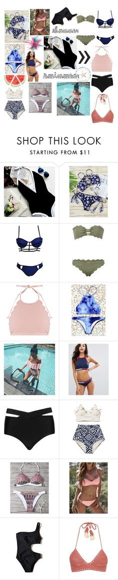 Women's Swimwear by pengy-vanou on Polyvore featuring Marysia Swim, SHE MADE ME, Tommy Hilfiger, Cactus, Hollister Co., WithChic and Givenchy