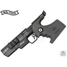 Manufacturer: Walther Mod. SSP Type - Tipo: Pistol Caliber - Calibre: 22 LR Capacity - Capacidade: 5 Rds Barrel length - Comp.Cano: 153 mm Weight - Peso: 970...