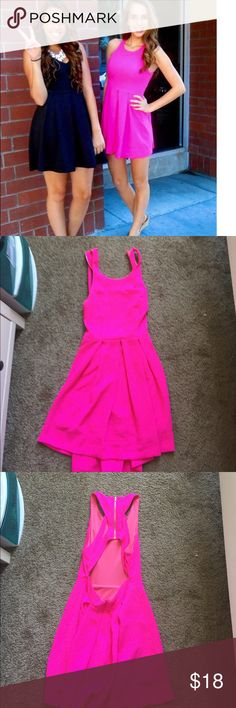 Lulu's Pink Dress Lulu's Pink dress - worn once. From the brand L'aiste Lulu's Dresses Mini