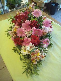 Bårebuket, funeral flowers