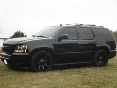 Chevy Tahoe police edition 2x4 look alike but 4x4 would be sweet!