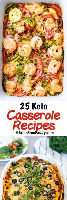 25 of the Best Ever Keto Casserole Recipes – Cooking is Easy Now with These Recipes #ketocasserole #casserolerecipe #lowcarbrecipes #ketorecipes