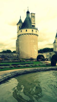 tower at Chenonceau