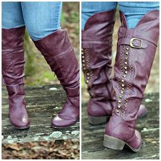 Hems for Her Trendy Plus Size Fashion for Women: My Fashion Wants: Red Boots