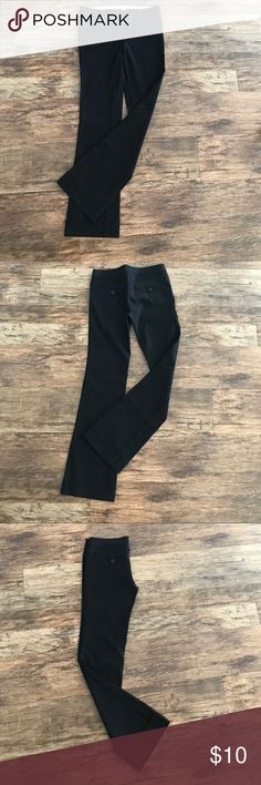 Black Slacks Cute semi flared slacks, great for work. Very form fitting. Excellent condition Joe Benbasset Pants Boot Cut & Flare