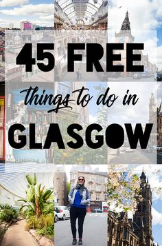 Glasgow is an incredibly budget-friendly city to visit in Scotland. It was mostly designed for the local population, which is why so many attractions in the city are free to enter. Here are 45 free things to do in Glasgow, including points of interest, museums, attractions, tours, markets and live music.
