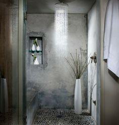 douche à effet pluie pour votre salle de bains