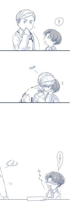 Attack On Titan Jean, Attack On Titan Anime, Levi Ackerman, Aot Characters, Eren X Mikasa, Levi And Erwin, Tragic Love Stories, Fanart, Eruri