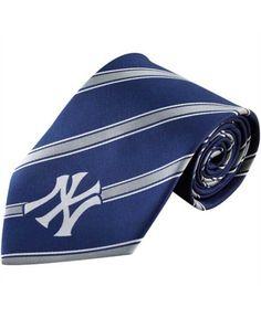 Eagles Wings New York Yankees Striped Tie