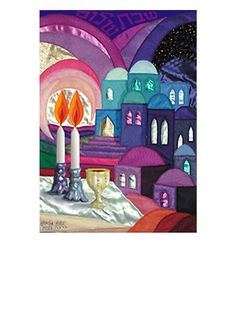 Quilted Shabbat IMage
