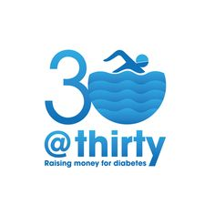 #logo designed for a series of charity swims