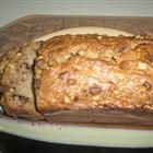 super simple banana bread (tastes okay--could use a bit more flavor, but only a few ingredients if needed in a pinch!)