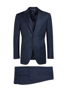 Suit Blue Plain Napoli P4119i | Suitsupply Online Store