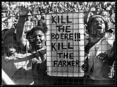 THE GRUESOME REALITY OF RACIST SOUTH AFRICA Leftist silence on the genocidal race hatred of the Marxist government they supported. And, because of selective disarmament of the public, white farmers and their families in South Africa are being slaughtered. News South Africa, Union Of South Africa, Australia Visa, Apartheid, Nelson Mandela, At Least, America, How To Plan, Farmers