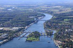 Schleusen in Kiel -Holtenau | Foto: Olaf Eggert at http://www.fotocommunity.de/pc/pc/display/18524661 | CC BY-NC-ND 2.0 DE http://creativecommons.org/licenses/by-nc-nd/2.0/de/deed.en