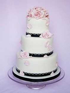 Wedding Cake Wilma by Swedish Cakes