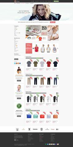 SAHARA - Fashion 1 - Ultimate Responsive Magento Themes