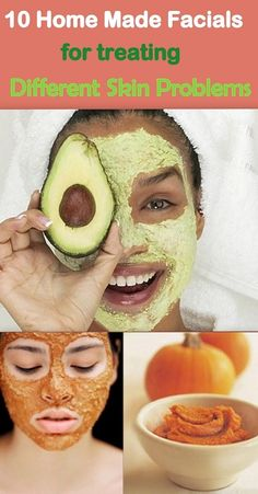 10 Absolutely amazing home made Facials to treat different problems related to your facial skin. Get a super glowing skin with these natural DIY home facial masks.